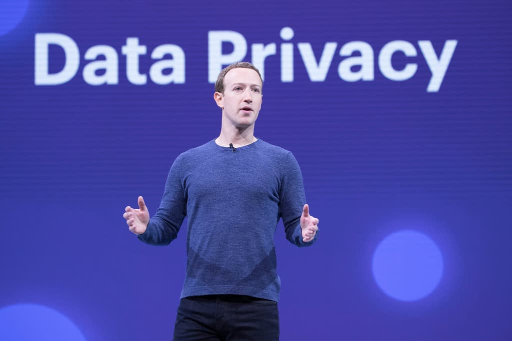 "Zuckerberg talks about ""data privacy"" but argues against your surrender of principles"