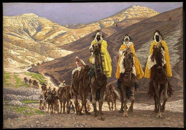 Wise Men Visit Jesus